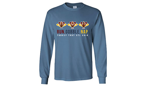 Turkey Trot STL Cotton Tees