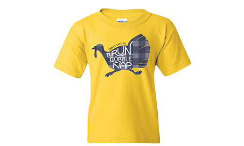Turkey Trot STL Kid Tees